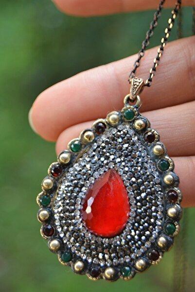 Stoneage Jewellery Yakut Taşlı Kolye