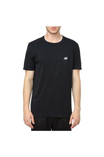 New Balance Pro Erkek Tee Siyah Erkek Tişört - Nbtm010-bk