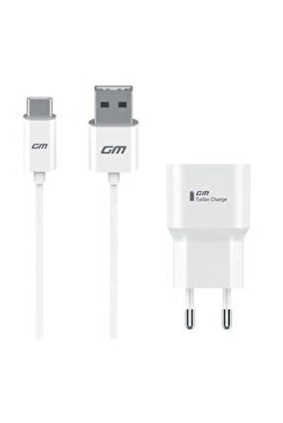 Gm 9 Plus   Pro Type c Orijinal Şarj Aleti  Data Kablo  3 A Telpa Garantili