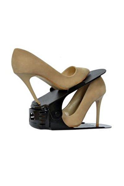 Ayakkabı Rampası Kaydırmaz Tabanlı Organizer 12 Adet