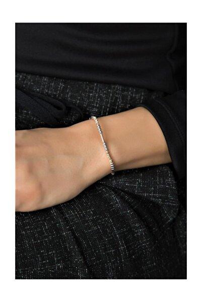 Sümer Telkari Dorika Toplu Altın Yaldızlı Gümüş Bileklik 3286
