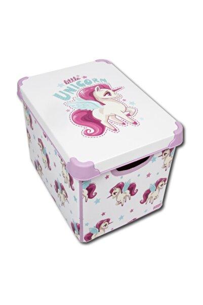 QUTU Style Box Unicorn - 20 Litre Dekoratif Saklama Kutusu
