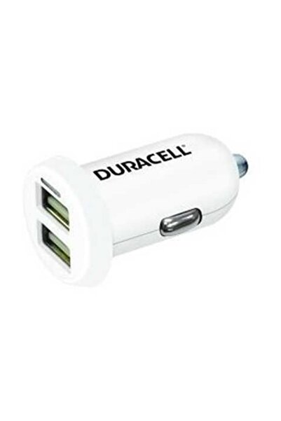Duracell 12v 2.4a Çift Usb Çıkışlı Araç Şarjı Dr5015w