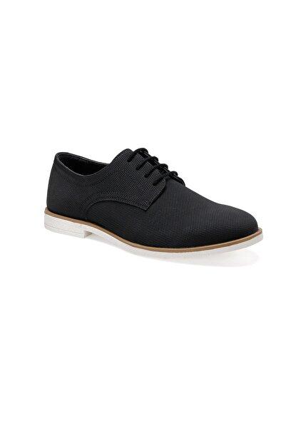 JJ-STILLER 1928-1 Siyah Erkek Klasik Ayakkabı