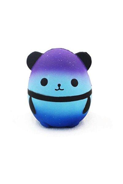 Squishy Jumbo Mavi Panda Squıshy, Sukuşi, Bebek Oyuncağı , Yavaş Yükselen