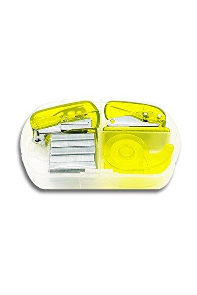 Ceo Art Ks0001 Kırtasiye Seti Dikdörtgen Sarı Renk
