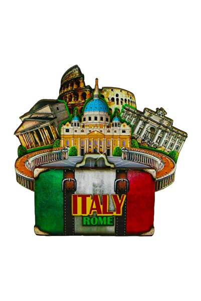 Vera Buzdolabı Magneti Avrupa Şehirleri Roma