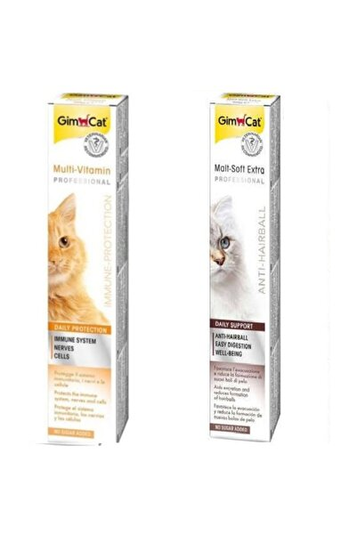 Gimcat Malt-soft-extra Tüy Yumağı Kontrol Maltı - Multivitamin 12 Paste  20 Gr  Eko 2 Li Paket