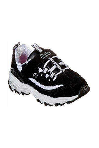 SKECHERS D'LITES-CROWD APPEAL Küçük Kız Çocuk Siyah Spor Ayakkabı