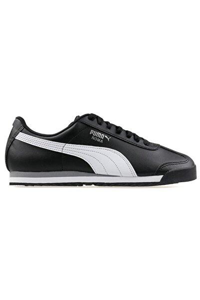 Puma Siyah Beyaz Spor Roma Basıc Ayakkabı  38,5