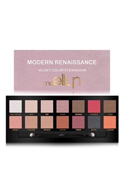 GLAZZI 14 Lü Mor Göz Farı Mc Ellyn Modern Renaissance Velvet Color