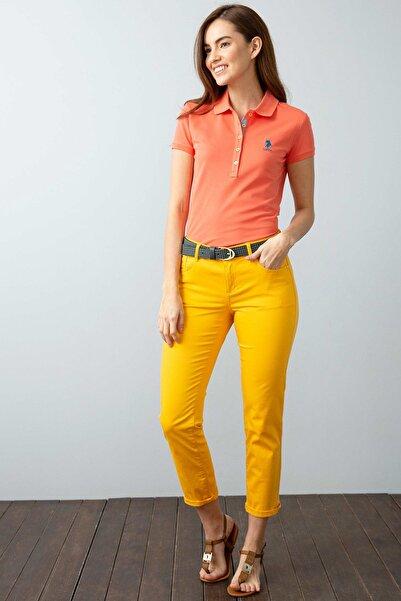 U.S. Polo Assn. Kadın Polo Yaka T-shirt G082SZ011.000.734021