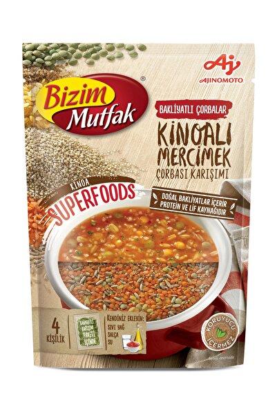 Bizim Bizim Mutfak Kinoalı Mercimek Çorbası Karışım 102,5 G