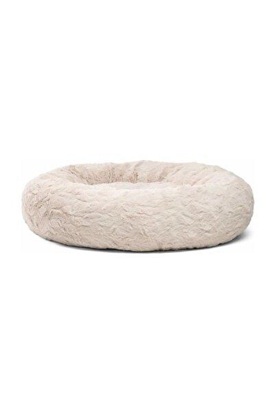 Alas Shop Beyaz Yumuşak Polar Kedi Yatağı - Köpek Yatağı Minder