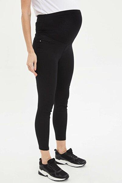 DeFacto Kadın Siyah Slim Fit Hamile Pantolonu L5211AZ.20SP.BK27