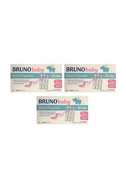 Bruno Baby Serum Fizyolojik Damla 3 Paket 5 Ml X 20 Adet