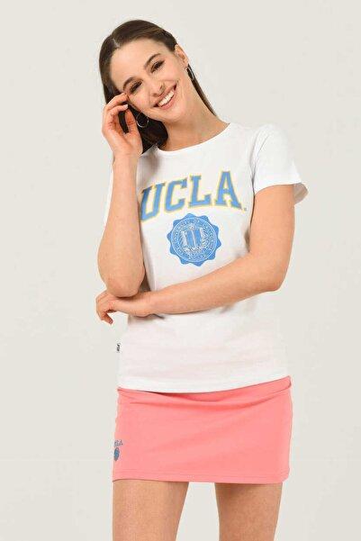 UCLA Kadın Beyaz T-Shirt