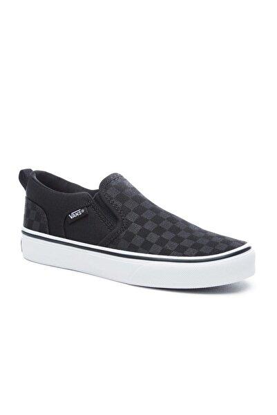 Vans ASHER Siyah Kadın Sneaker Ayakkabı 100787466