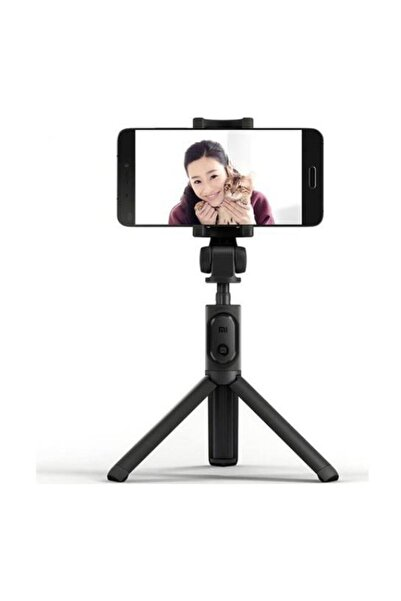 Xiaomi Bluetooth Uzaktan Kumanda Tripod Selfie Çubuğu-Siyah