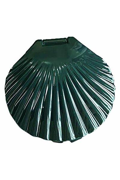Miniso Yeşil Deniz Kabuğu Cep Aynası
