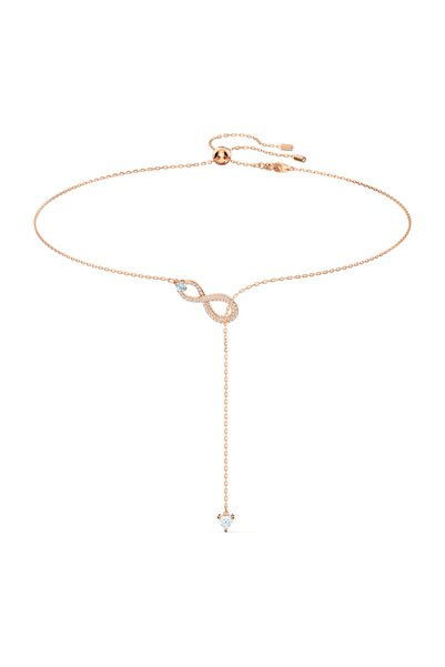 Swarovski Kolye Swa Infinity-necklace Y Inf Cry-czwh-ros 5521346