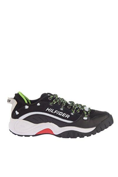 Tommy Hilfiger Erkek Siyah Sneaker EM0EM00374