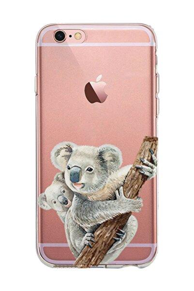 Kılıfland Apple Iphone 6s Plus Kılıf Silikon Resimli Kapak Koalas -stok 1125