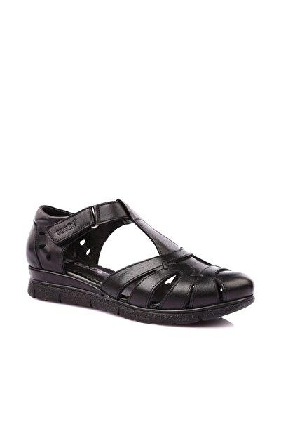 Venüs Siyah Kadın Sandalet