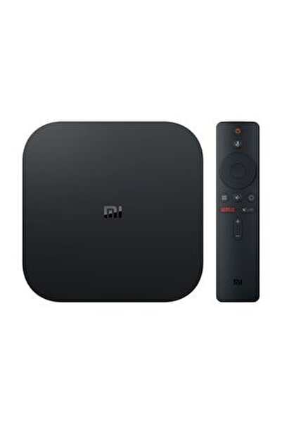 Mi Box S 4K Ultra HD Android TV Box HDR Dolby DTS Chromecast Medya Oynatıcı