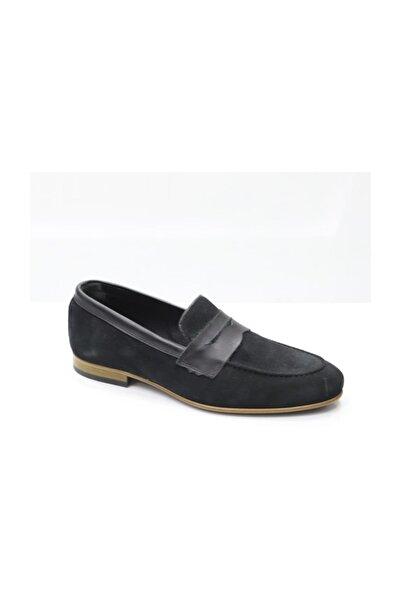 TETRİ Siyah Süet Ayakkabı