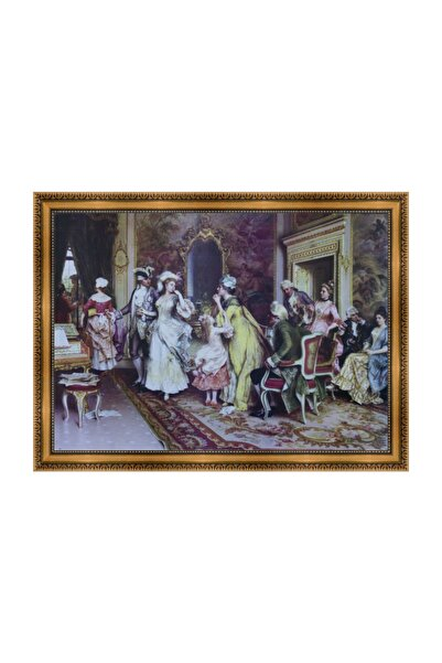 LiliaHome Baroque Dekoratif Tablo