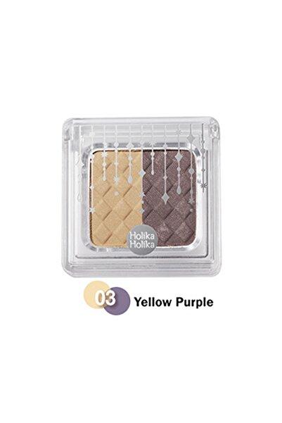 Holika Holika Jewel-light Two Color Eyes 03 Yellow-purple