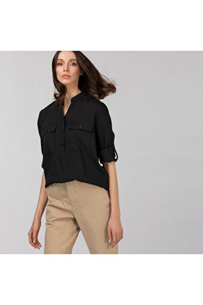 Lacoste Kadın Kahverengi Gömlek CF0102T