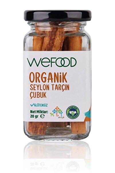 Wefood Organik Seylon Tarçın Çubuk 20 gr