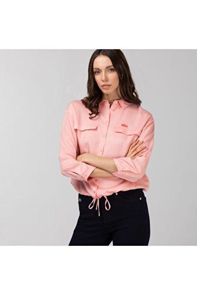 Lacoste Kadın Pembe Gömlek CF0113