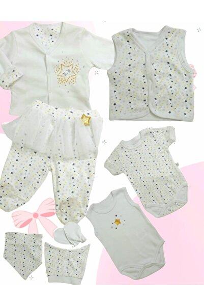 İmaj Kız Bebek Ekru Little Star Hastane Çıkışı 8 Parça