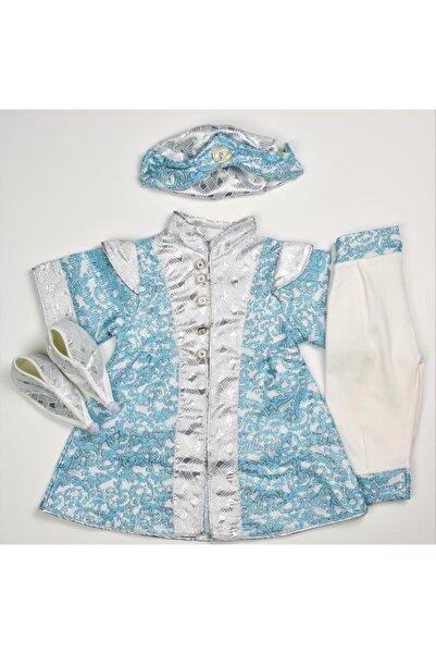 Peite Ponpon Baby Erkek Çocuk Mevlütlük Şehzade Mevlüt Kıyafeti Erkek Çocuk
