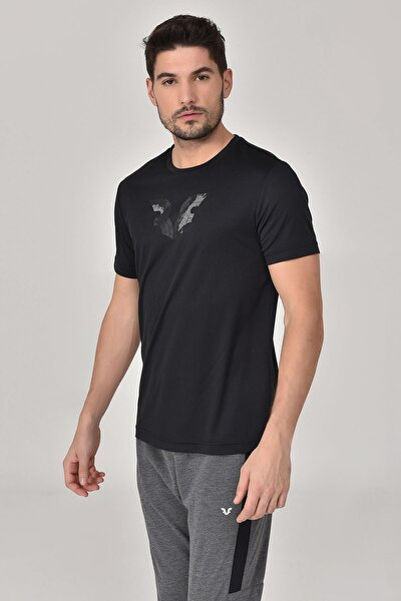 bilcee Siyah Erkek T-shirt  GS-8843