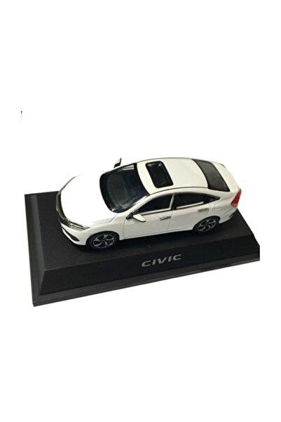 Diecast Honda Model Araba  Otomobil Fc5  - Beyaz