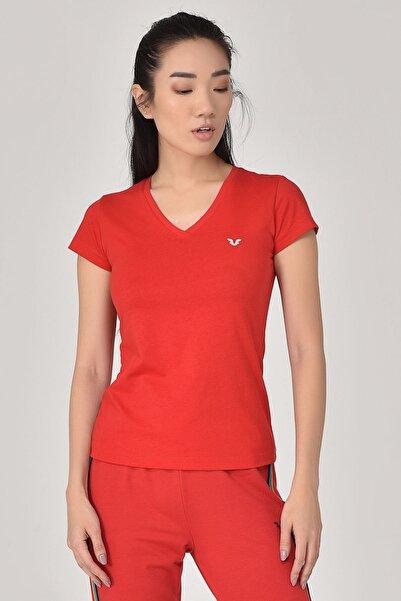 bilcee Kırmızı Kadın T-Shirt GS-8087