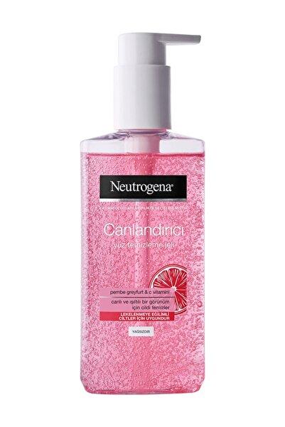Neutrogena Pembe Greyfurt & C Vitamini Canlandırıcı Yüz Temizleme Jeli 200 Ml
