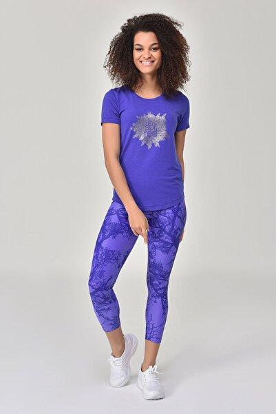 bilcee Mavi Kadın T-shirt  GS-8613