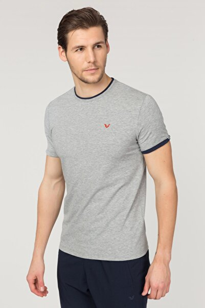 bilcee Pamuklu  Erkek T-Shirt ES-2374