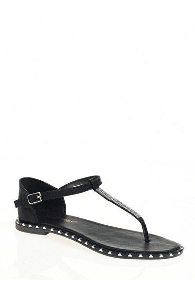 David Jones Kadın Parmak Arası Sandalet Siyah