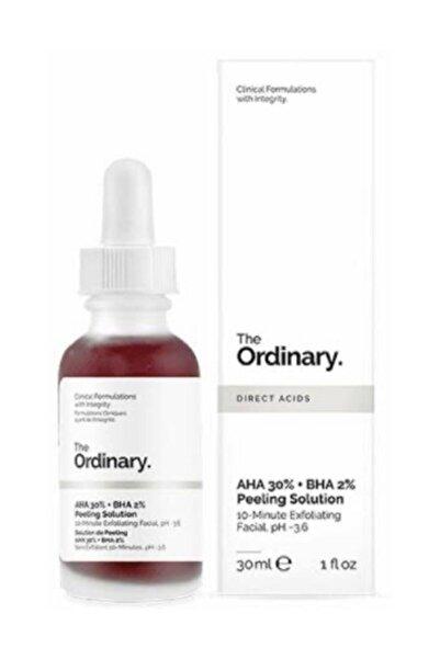 The Ordinary Kırmızı Peeling Maskesi - AHA 30% + BHA 2% Peeling Solution 769915191004