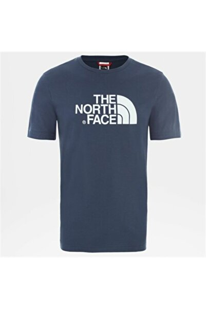 THE NORTH FACE M S/S EASY EU Mavi Erkek T-Shirt 100576713