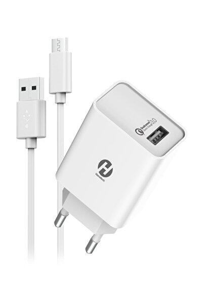Hometech Qc Adaptör + Type -c Kablo