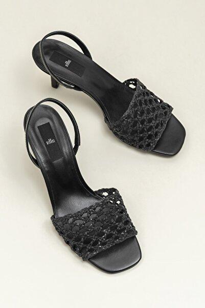 Elle Shoes SELINA Siyah Kadın Sandalet