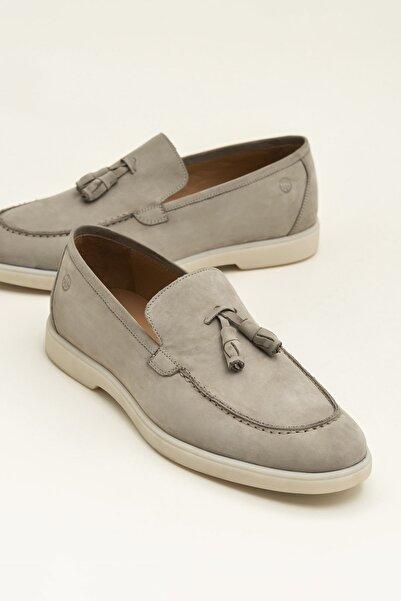 Elle Shoes ANTUANE Hakiki Deri Bej Erkek Ayakkabı