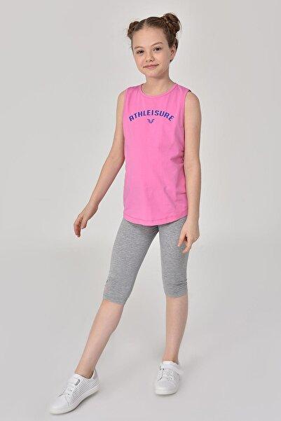 bilcee Pembe Kız Çocuk Atlet Gs-8172